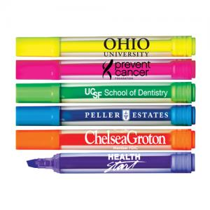 Clear Jumbo Broad Tip Highlighter