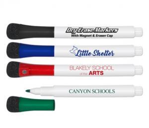 Dry Erase Marker With Eraser/Magnet Cap
