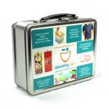 3 Inch Metal Lunch Box - 1 Side Decal