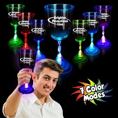 10 Oz. Light Up Wine Glass