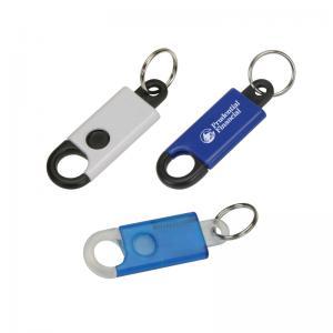 Secure Carabiner Keytag