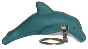 Dolphin Stress Reliever Keychain