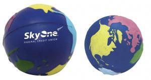 Multi-Colored Globe Stress Reliever