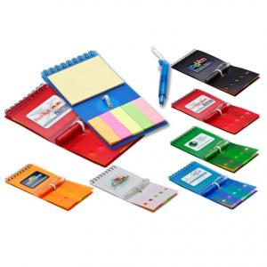 Sticky Note Booklet with Mini Pen