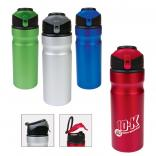 Snap Cap Aluminum Bottle