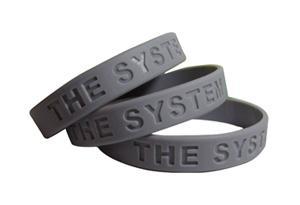Custom Debossed Silicone Wristband