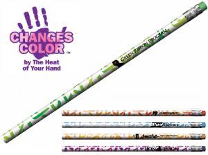 Awareness Ribbon Themed Color Changing Mood Pencil