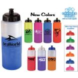 32 Oz. Color Changing Sports Water Bottle with Push/Pull Cap