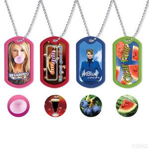 Scented Dog Tag with Full Color Imprint