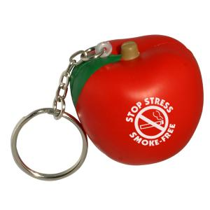 Apple Key Chain Stress Reliever