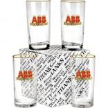 Set of 4 Glasses in Gift Box