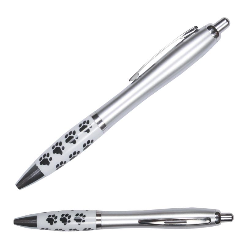 Paw Print Barrel Pen