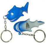 Shark Key Chain Stress Reliever