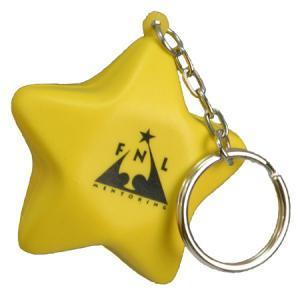 Star Stress Reliever Key Chain