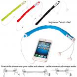 Silicone Ear Bud Cable Organizer