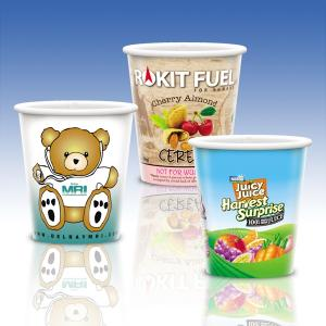 9 Oz. Full Color Heavy Duty Paper Cold Cup