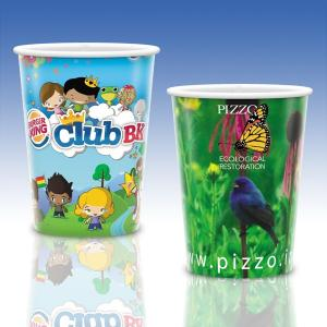 17 Oz. Full Color Heavy Duty Paper Cold Cup