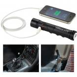 Emergency Flashlight with 1400 mAh Cell Phone Charger