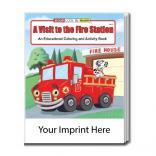 """A Visit To The Fire Station"" Coloring Book"