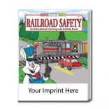 """Railroad Safety"" Coloring Book"