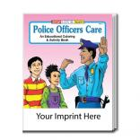 """Police Officers Care"" Coloring Book"