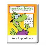 """Learn About Eye Care"" Coloring Book"