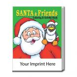 """Santa & Friends"" Coloring Book"