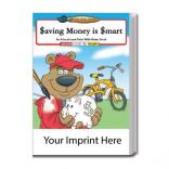"""Saving Money Is Smart"" Water Book"
