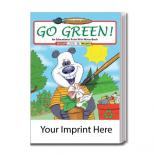"""Go Green"" Water Book"