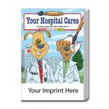 """Your Hospital Cares"" Water Book"