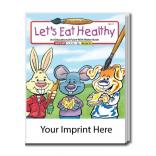 """Let's Eat Healthy"" Water Book"