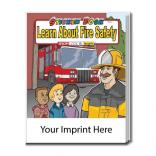 """Learn About Fire Safety"" Sticker Book"