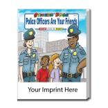 """Police Officers Are Your Friends"" Sticker Book"