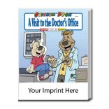 """A Visit To The Doctor's Office"" Sticker Book"