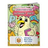 """Word-y Bird-y, the Alphabet Bird"" Coloring Book"