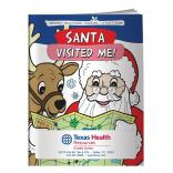 """Santa Visited Me!"" Coloring Book"