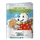 """Eco-Friendly Polar Bear"" Coloring Book"