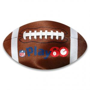 Football Microfiber Cleaning Cloth