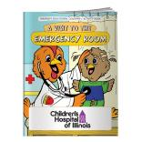 """A Visit To The Emergency Room"" Coloring Book"
