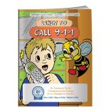 """When To Call 911"" Coloring Book"