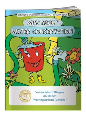 """Water Conservation"" Coloring Book"
