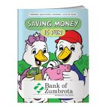"""Saving Money Is Fun"" Coloring Book"