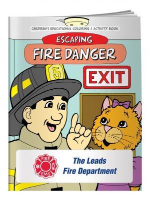 """Fire Danger"" Coloring Book"