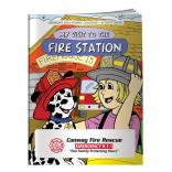 """My Visit To The Fire Station"" Coloring Book"