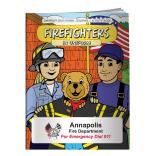 """Firefighters In Uniform"" Coloring Book"
