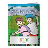 """Fitness Is Fun"" Coloring Book"