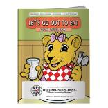 """Let's Go Out To Eat"" Coloring Book"