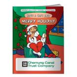"""Have A Safe & Merry Holiday"" Coloring Book"