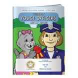 """Friendly Police Officers Are My Heroes"" Coloring Book"