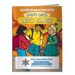 """Don't Mess With Gangs"" Coloring Book"